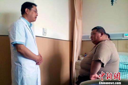 安徽一420斤男子接受减重手术:做梦都想瘦下来