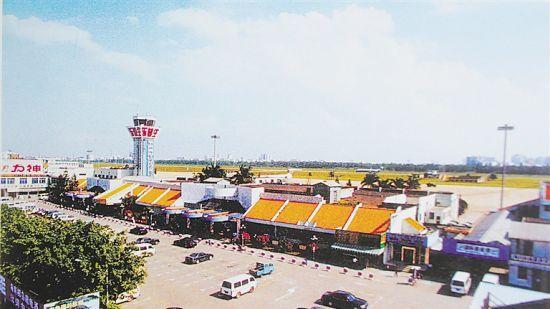 大英山老机场旧照。