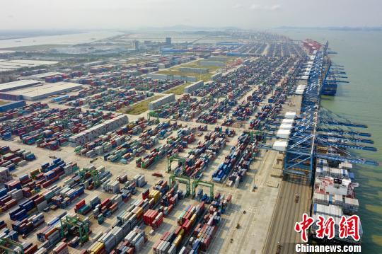 南沙自贸区挂牌三周年广州海关通关时间减近一半