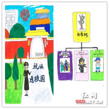 浏阳漫画携手文学社纳税税宣国税绘制诚信润漫画入正图片