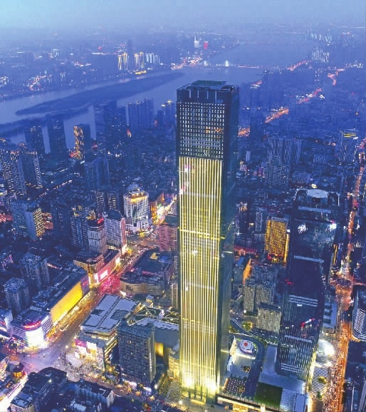 Hunan's tallest building opens to the public
