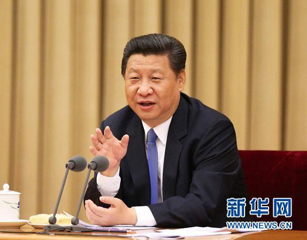2015年5月18日至20日,中央统战工作会议在北京举行。中共中央总书记、国家主席、中央军委主席习近平在会上发表重要讲话。新华社记者 马占成 摄
