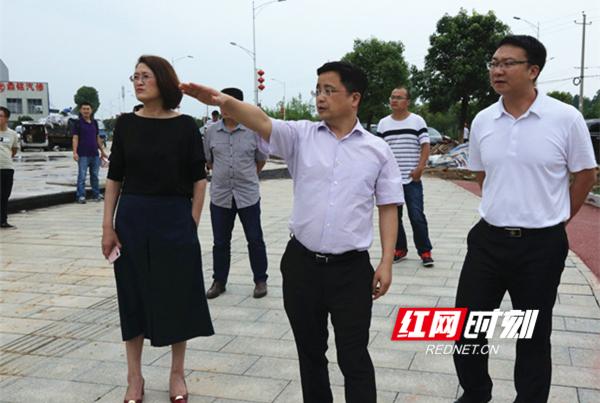 张贺文调研永州经开区