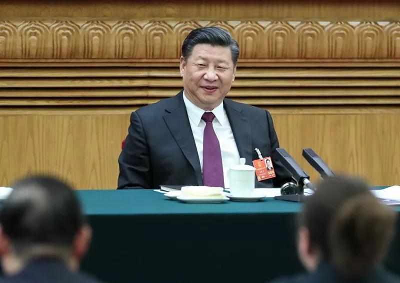 △今年两会期间,习近平总书记参加内蒙古代表团审议
