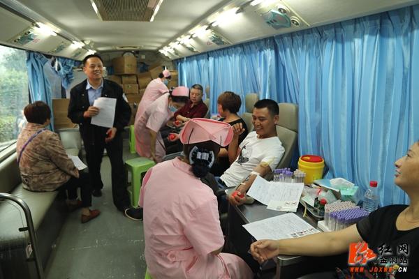 金洞:无偿献血8万毫升