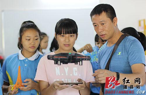 """道县:科技""""创客"""" 炫动校园"""