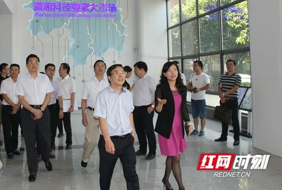 潇湘科技要素大市场即将开业 打造湖南科技资源聚集地