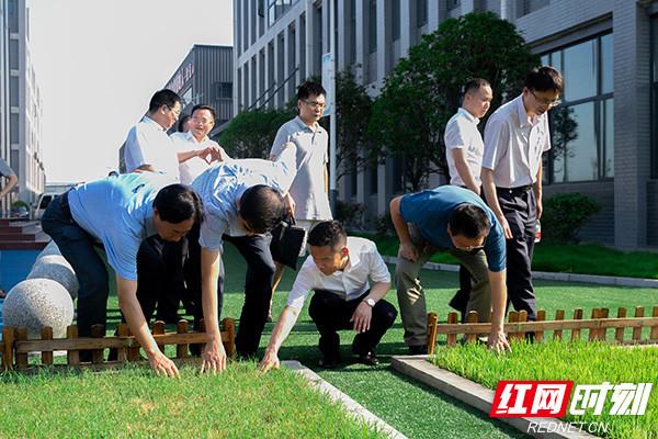 张大方调研健康体育产业 探索湖南健康体育产业未来
