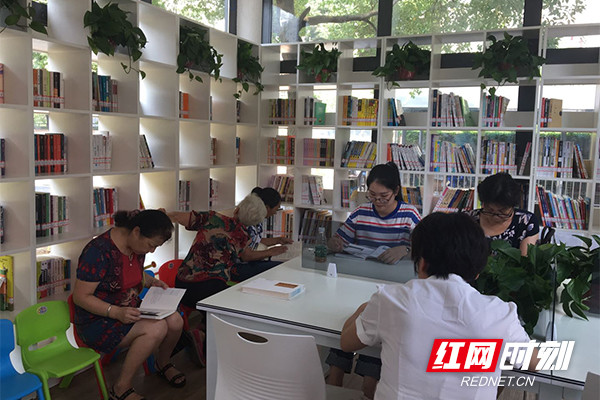 New self-service library opens in Changsha