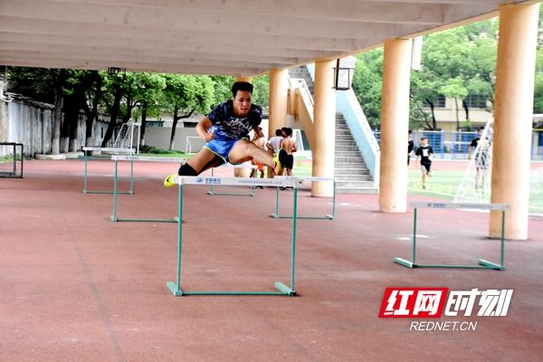 湘潭市运动员斗志昂扬 积极备战第十三届省运会