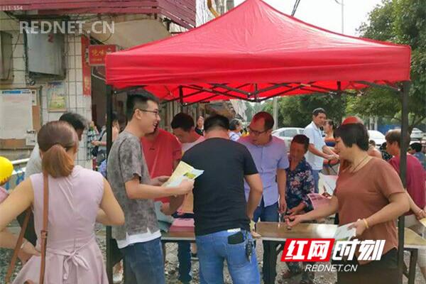 永州经开区国土分局:务实开展第15个全国测绘法宣传日活动