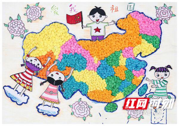 同主题活动少儿手绘地图大赛湖南省选拔赛结果出炉.
