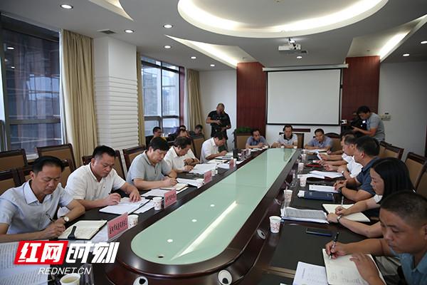 督察整改进度滞后 省环保厅、住建厅联合约谈岳阳市