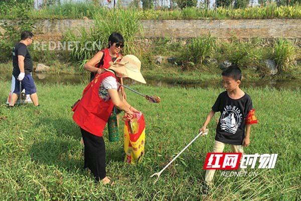 世界清洁地球日 江华义工在行动