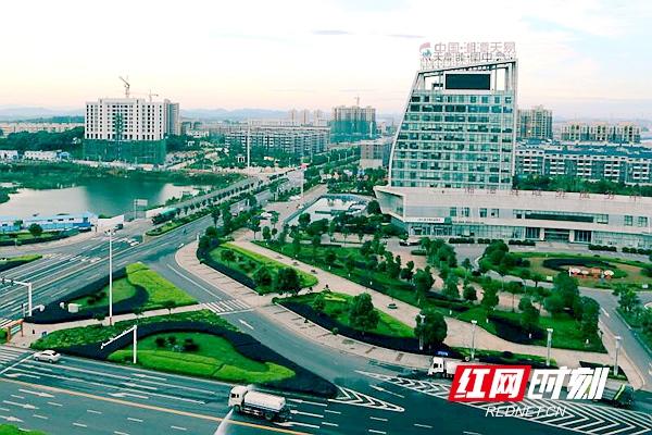 湘潭天易经开区.(图片来源:湘潭县委宣传部)