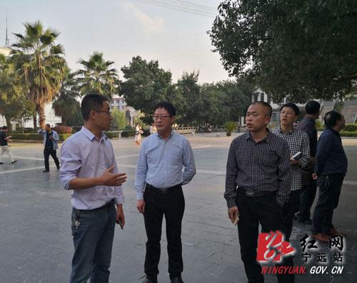 杨友忠带队实地检查非洲猪瘟防控工作