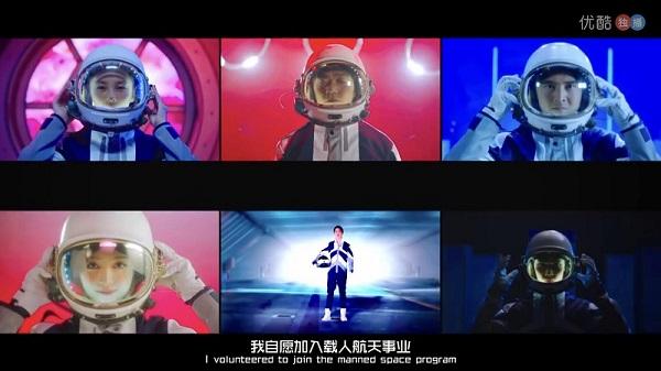 """朱正廷秀超励志口头禅""""我可以的"""" 《挑战吧太空》首播引燃正能量"""