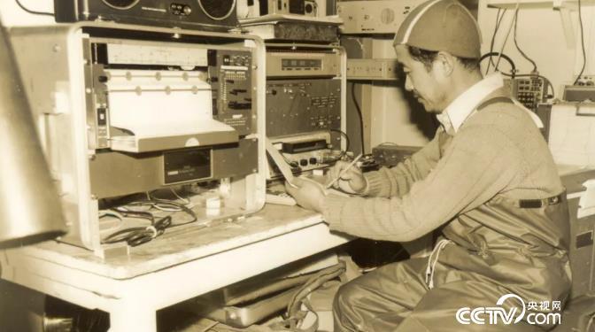 1980年12月董兆乾在内拉丹号海洋考察