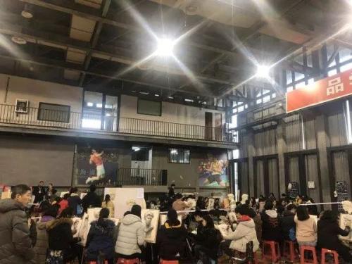 """2019年1月5日,中国美术学院2019年""""三位一体""""综合评价招生初试现场"""