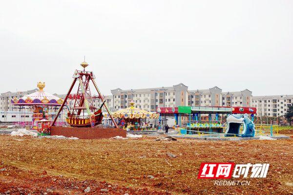 江华首个大型游乐园初现雏形