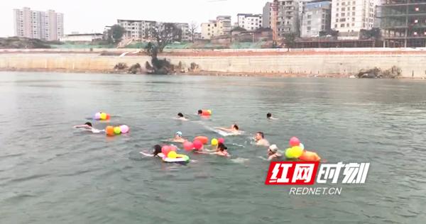道县冬泳协会举办2019年春节团拜会
