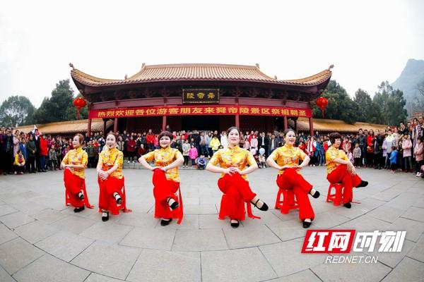 宁远九嶷:民俗闹新春,好运迎新春