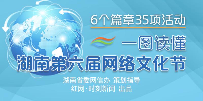 图简单| 一图读懂湖南第六届网络文化节