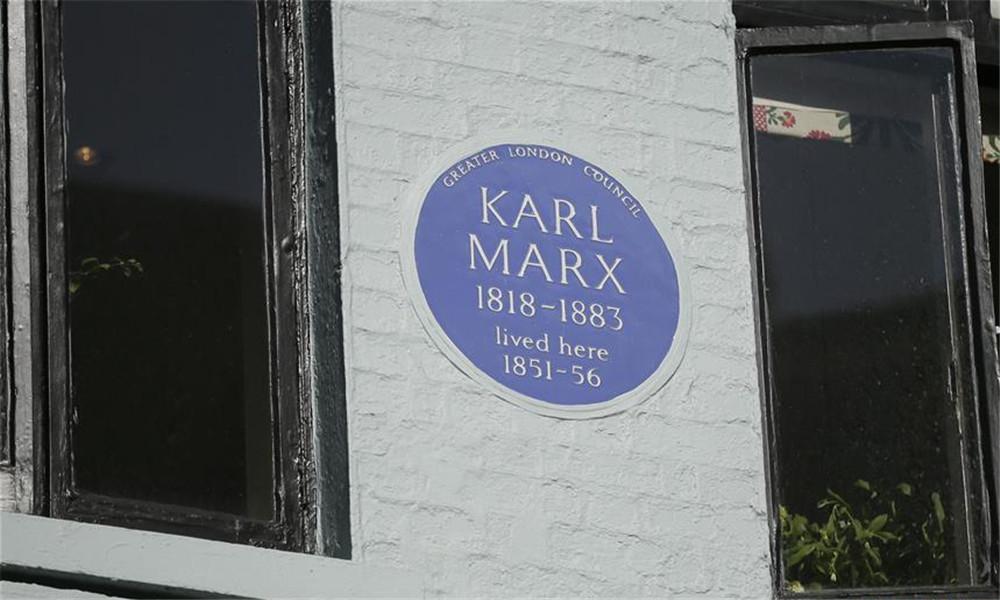 伦敦迪恩街上的马克思故居