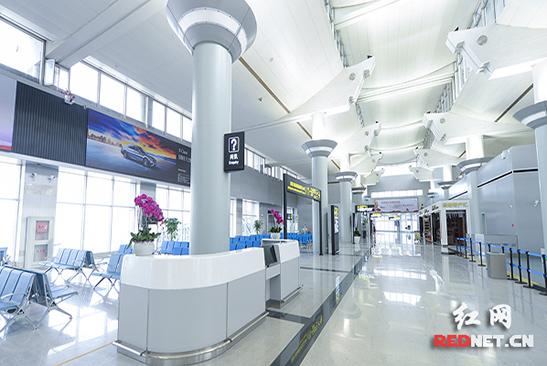 长沙黄花机场T1航站楼改造全面完成 5月16日正式恢复使用